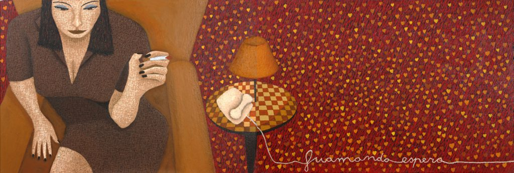 Contacto. Pintor figurativo, figurative paintings de Barcelona.