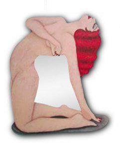 Consciente_inconsciente_mujer_espejo_josevalenciart_arteenbarcelona