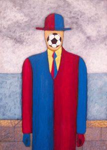 Se me vá la pelota por joseValenciart, Pintor Figurativo, Figurative Paintings